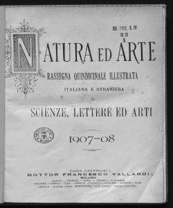 1907-1908 Numeri 1-6