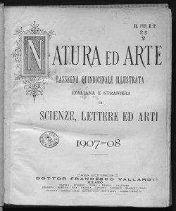 1907-1908 Numeri 13-18