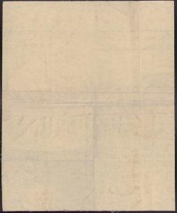 Corografia della Provincia di Bergamo nel regno Lombardo-Veneto, definita ne' suoi Distretti e Comuni Censuari formata in base delle mappe del nuovo Censimento (verso)