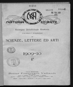 1909-1910 Numeri 1-6