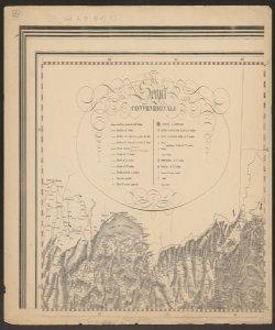 1: Segni convenzionali e confine tra Piemonte e Svizzera. -
