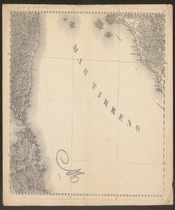 14: Costa est della Corsica, Bocche di Bonifacio (Sardegna) e costa del Lazio ; -