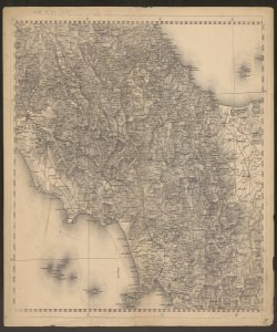 15: Lazio, Abruzzo, Campania e Promontorio del Gargano (Puglia). -