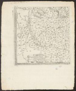 Descrittione del territorio bresciano con li suoi confini rifatto per me Leone Pallavicino pittore 10