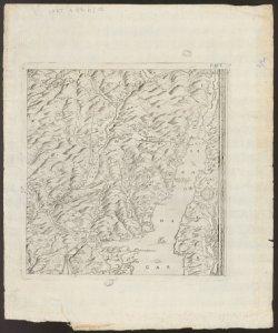 Descrittione del territorio bresciano con li suoi confini rifatto per me Leone Pallavicino pittore 12