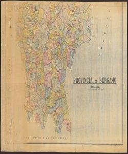 Provincia di Bergamo / comp[ila]ta e dis[egna]ta da Ugo Terzi 02
