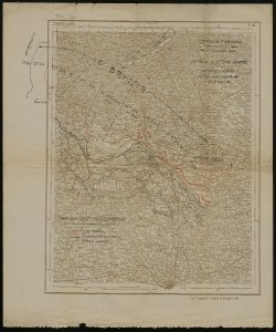 Battaglia di Vittorio Veneto: Dislocazione schematica delle Truppe Austro-Ungariche alla data 24 10 1918