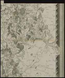 Carte particulière du Duché de Bourgogne, levée géométriquement par ordre de MM. les Elus Généraux de la Province en conséquence du Décret des Etats de 1751, divisée par diocèses, baillages et subdélégations, faisant partie de la Carte Générale de la France, levée par ordre du Roy et par les Ingénieurs Géographes de Sa Majesté sous la direction de Mrs Cassini, Camus et de Montigny, ... Dressée et exécutée par le Sr Séguin, Ingr. Géog. du Roy. Echelle de dix mil toises [Parte VI]