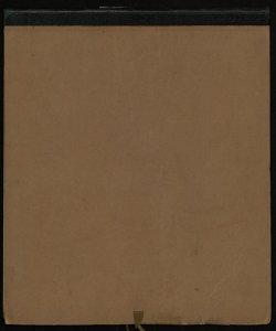 Carta corografica ed archeologica dell'Italia centrale, ossia antico Lazio, Campania, Sannio, con parti meridionali della Sabina ed Etruria [Copertina, retro]
