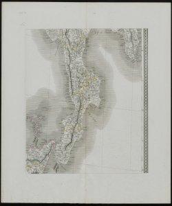 Carta dell'Italia in quindici fogli ricavata dalle migliori mappe finora pubblicate belle proporzioni di 1. a 600.000 per servire di corredo alla corografia dei diversi Stati stati della penisola di Attilio Zuccagnini Orlandini [Parte XI]