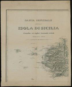 Carta generale della Isola di Sicilia [Parte I, verso]
