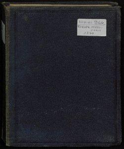 Carta speciale delle Ferrovie e della navigazione in Europa [Copertina, fronte]