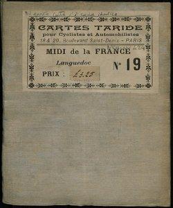 Cartes pour Cyclistes et Automobiles: Du Sud de la France. Section Ouest  [Copertina, fronte]