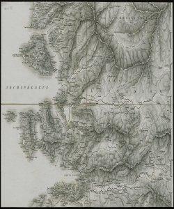 Carte der Europaeischen Turkey nebst einen theile von Kleinasien [Parte XIII, verso ]