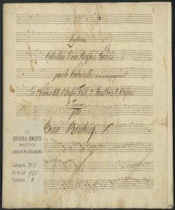 Quatrième Collection d'airs Russes Variés pour le Violoncelle avec accompagnement de 2 Violons, Alto et Basse, Flute, 2 Hautbois, 2 Bassons et Timpano : [Op. 21] / par Bern. Romberg