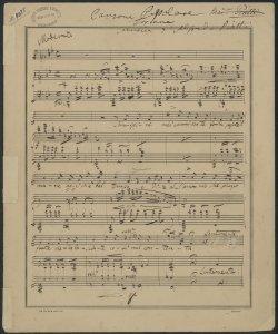 Canzone Popolare Toscana / Musica d'Alfredo Piatti