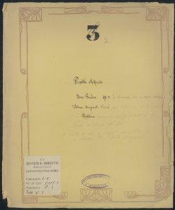 Tema variato [per violoncello] con accomp.to di Piano o d'Orchestra : [Une prière, Op.3] / Alfredo Piatti