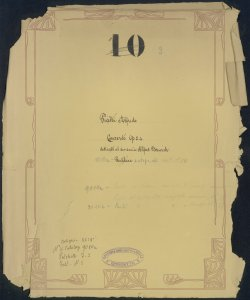Concerto per Violoncello Londra Aprile 22 1869 : [N.1, Op.24] / Alfredo Piatti