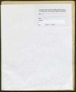 Archivio storico della Seriola Nuova