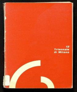 Triennale Milano. Cataloghi ufficiali