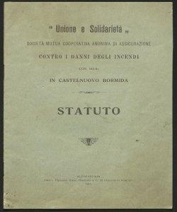 Statuto / Unione e solidarietà