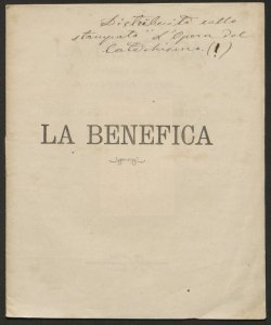 Statuto / La Benefica