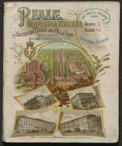 Ai visitatori della Esposizione industriale italiana di Milano 1881 / Reale compagnia italiana di assicurazioni generali sulla vita dell'uomo fondata in Milano nell'anno 1862