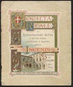 Società reale di assicurazione mutua a quota fissa contro i danni d'incendio ... : 1903
