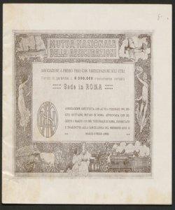 Mutua nazionale delle assicurazioni : 1919