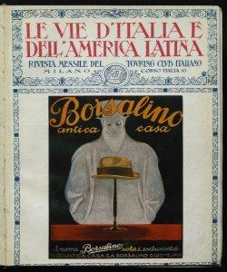 Le vie d'Italia e dell'America latina : rivista mensile del Touring club italiano