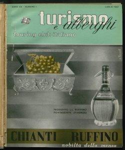 Turismo e alberghi : rivista mensile di studio e propaganda dei problemi turistici e alberghieri Touring club italiano