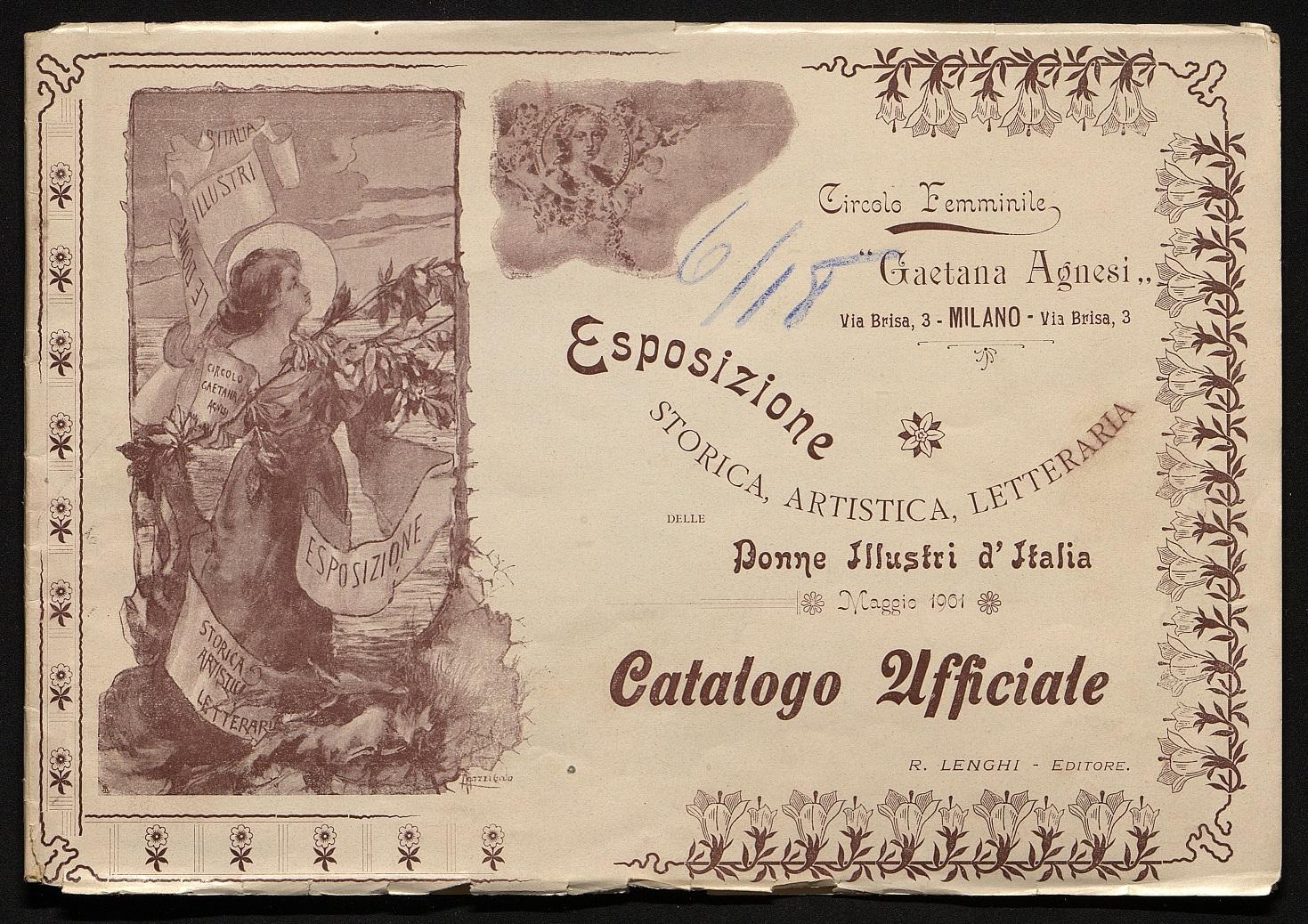 Catalogo ufficiale dell'Esposizione 1901